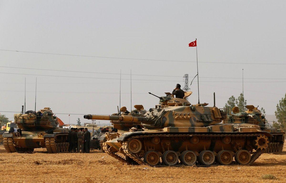 ВСирии исламисты уничтожили два турецких танка российскими ракетами