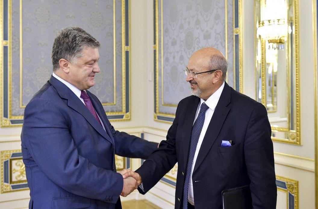 Порошенко встретился с генеральным секретарем ОБСЕ