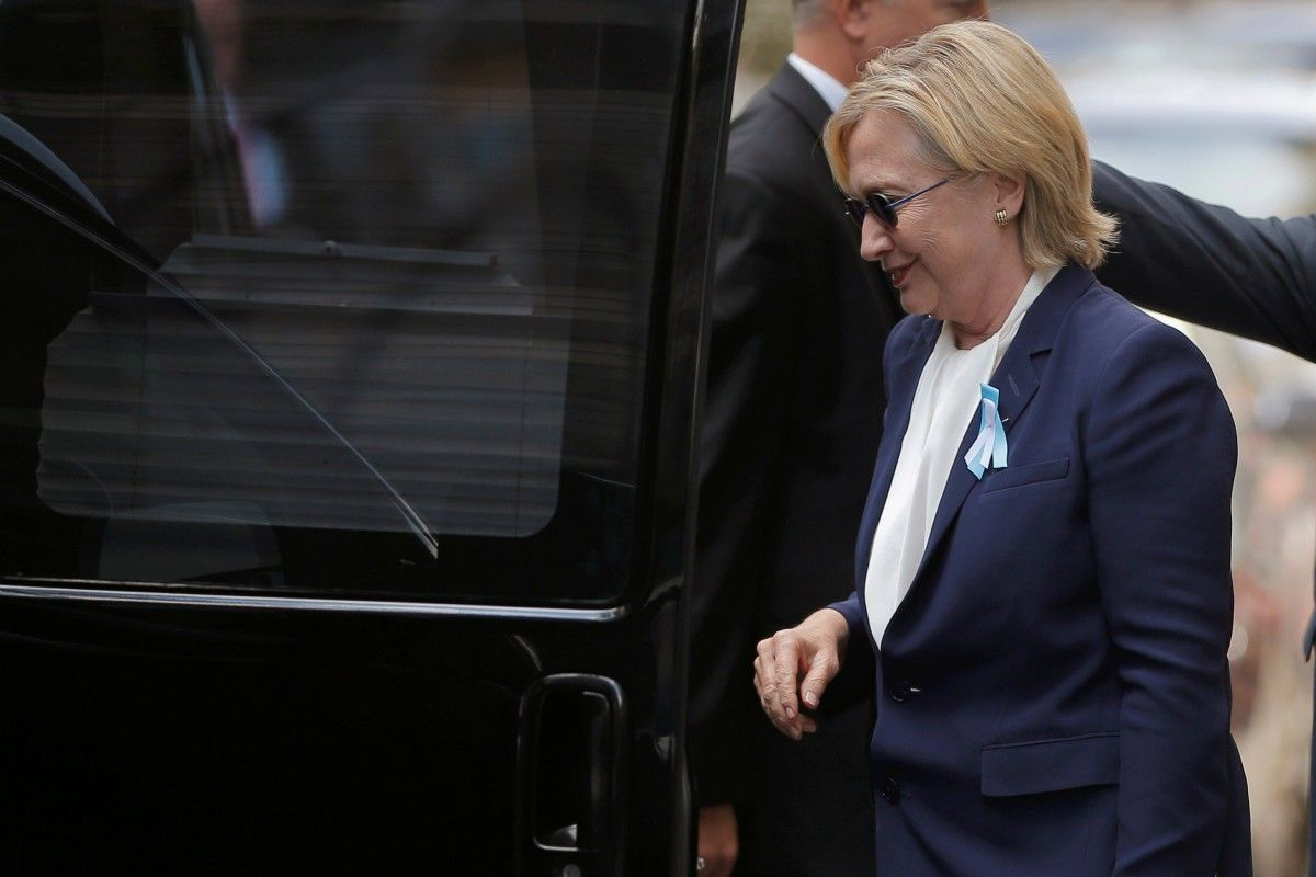 Юзеры социальных сетей рекомендуют Клинтон выйти изигры