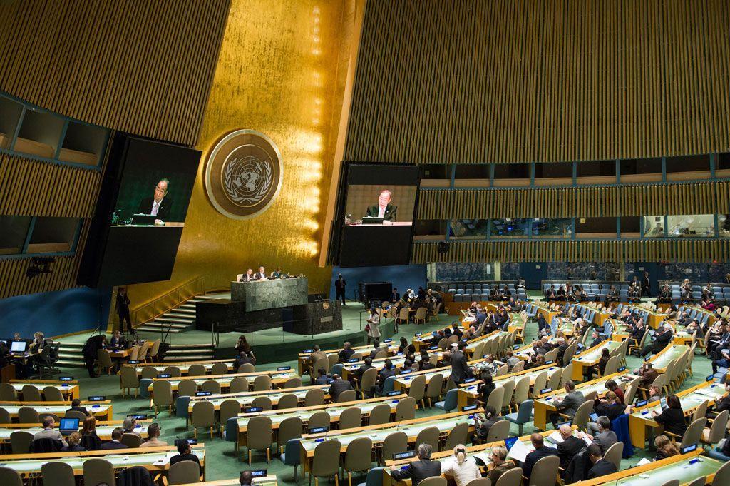 Проти резолюції проголосували 23 країни / Фото un.org / Рик Бахорнас