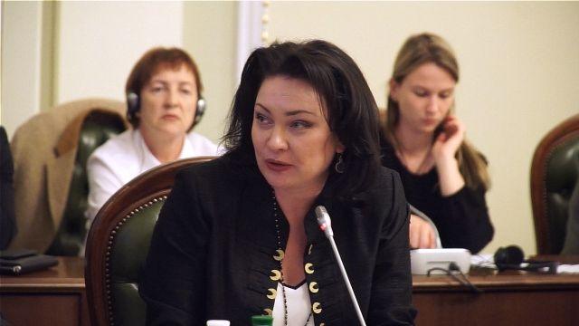 Анастасия Дивинская, руководитель ООН Женщины в Украине