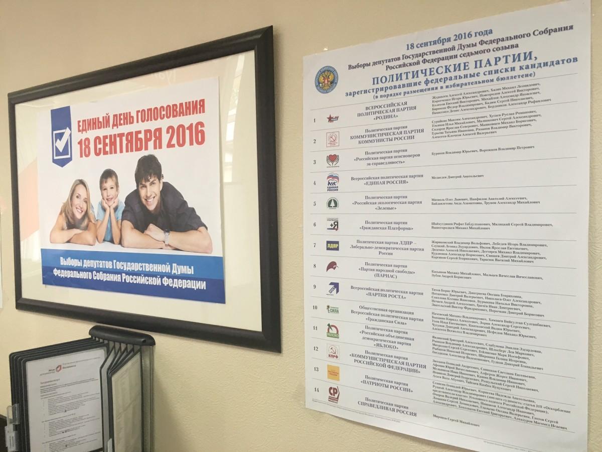Выборы в Государственную думу РФвКиеве: голосующих недостаточно, протестующих нет