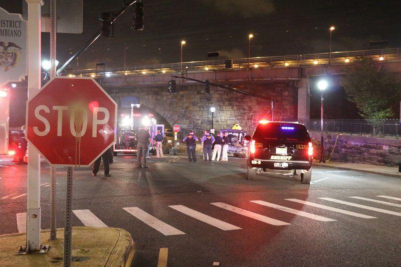 взрыв в Нью-Джерси / NJ.com