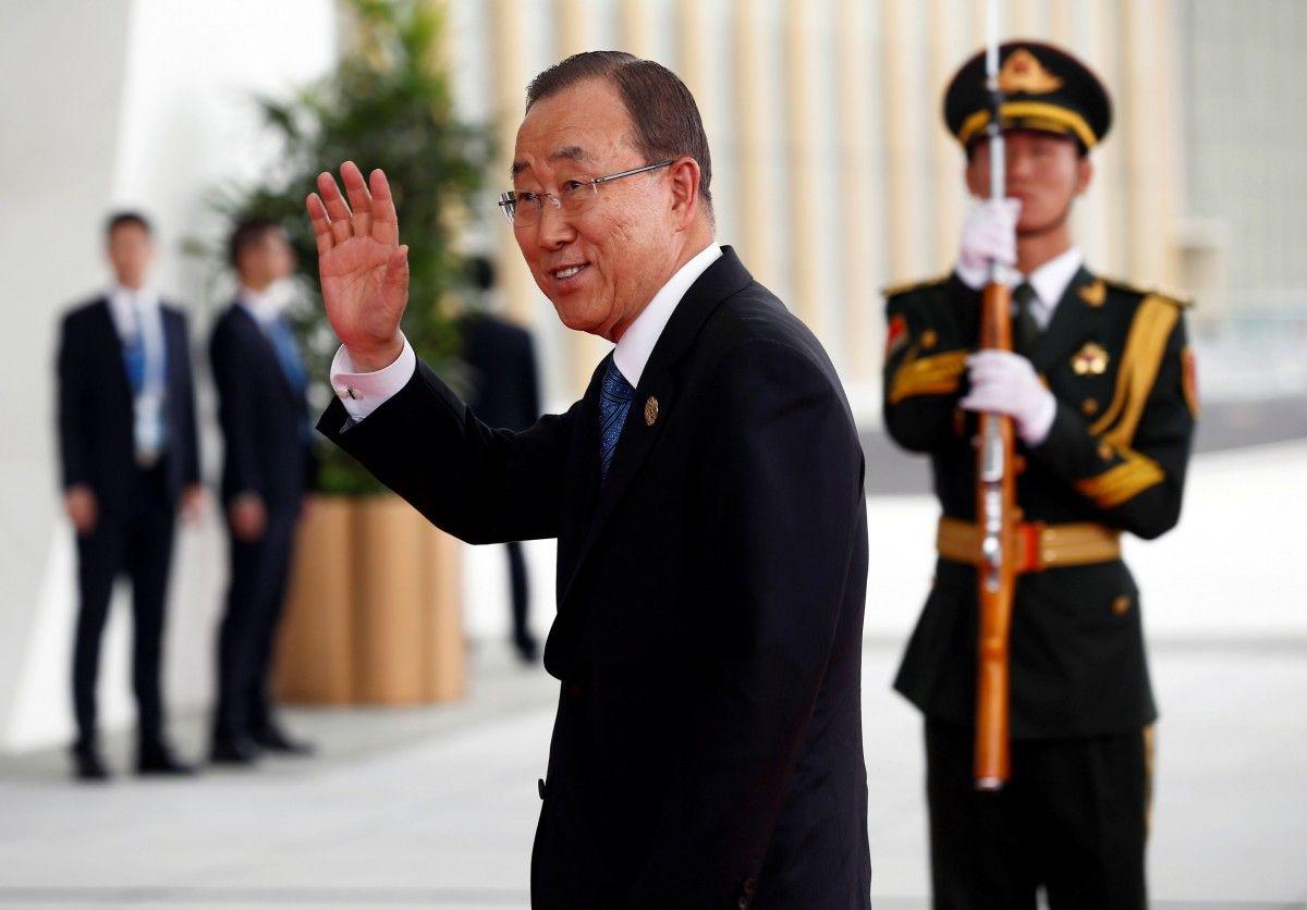 Генсек ООН Пан ГиМун вызвал Барака Обаму напоединок вгольф