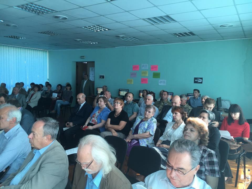 Торжественное заседание изобретателей Украины / Фото Владислав Швец