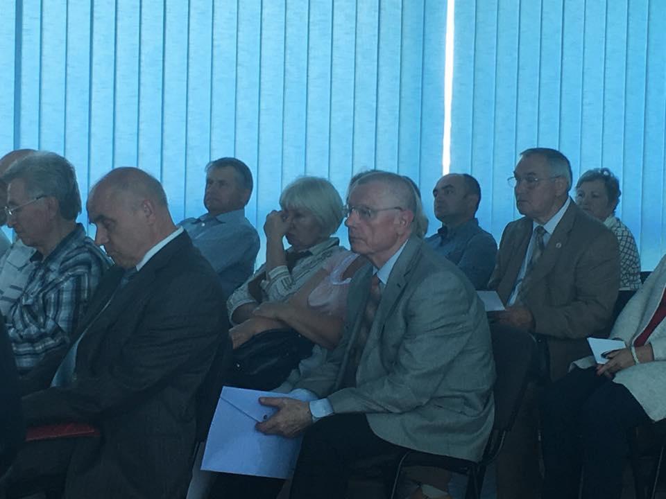 Утомленные участники конференции / Фото Владислав Швец