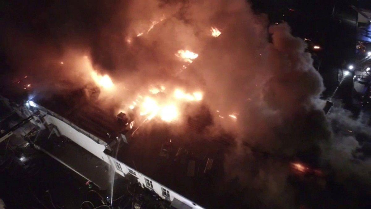Пожар в Москве / REUTERS