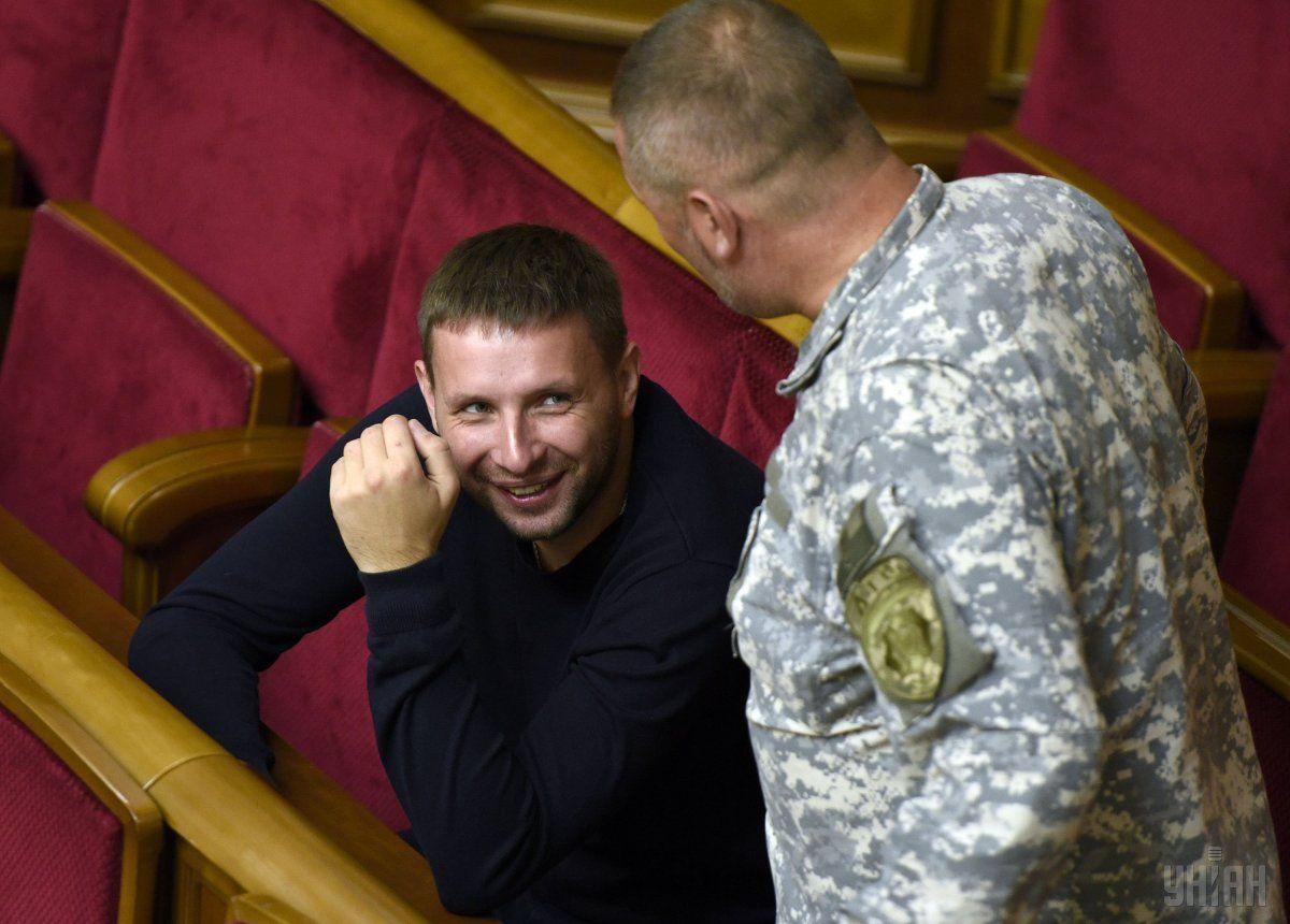 Парасюк констатував, що став політиком внаслідок перемоги Революції гідності / Фото УНІАН
