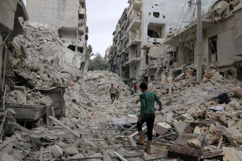 Наслідки бомбардування Алеппо / REUTERS