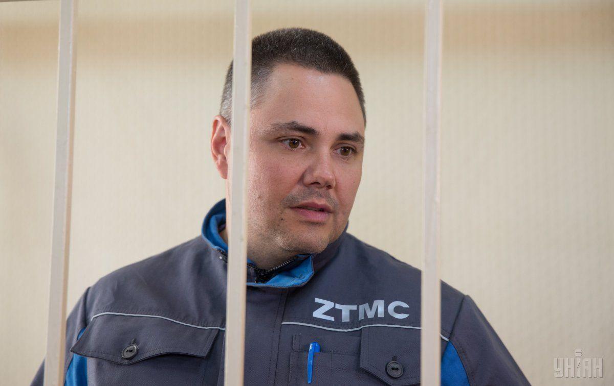 Директор ЗТМК Володимир Сивак під час судового засідання / УНІАН