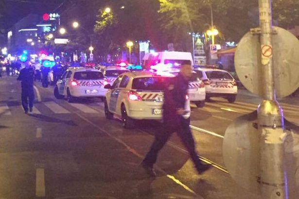 В Будапеште прогремел взрыв / @ofirzarfatinews/Twitter