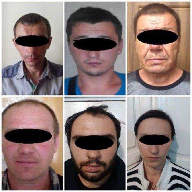 Задержанные боевики / facebook.com/Vyacheslav.Abroskin