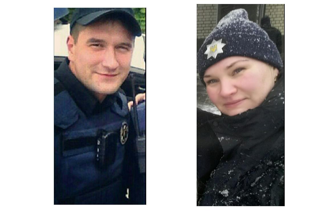 Артем Кутушев и Ольга Макаренко / Фото facebook.com/dnipropolice