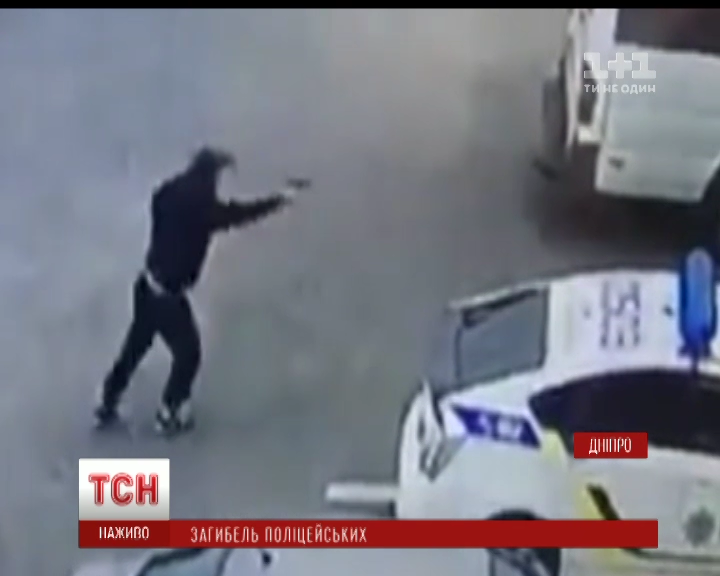 ВДнипре после расстрела полицейских улицы иподъезды оборудуют видеокамерами