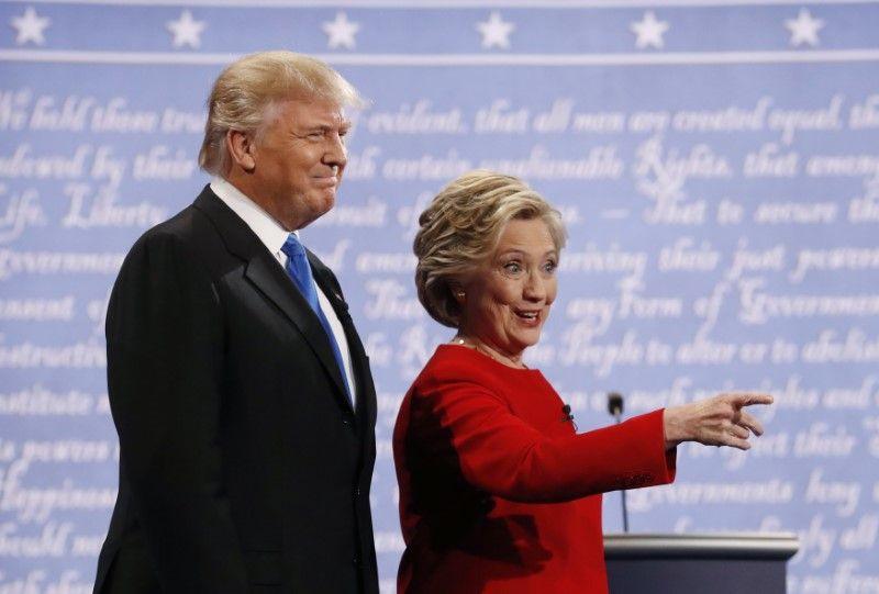 Дональд Трамп і Хілларі Клінтон / REUTERS