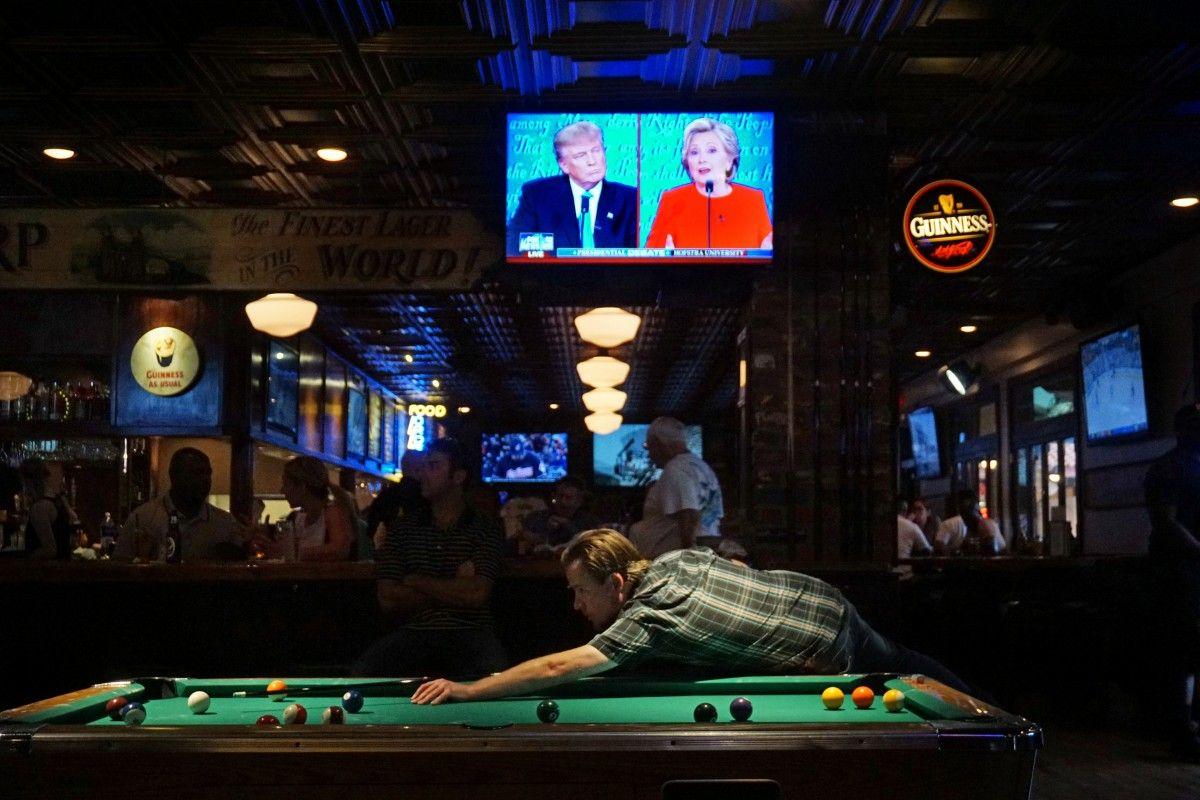 В США прошли дебаты между Клинтон и Трампом / REUTERS