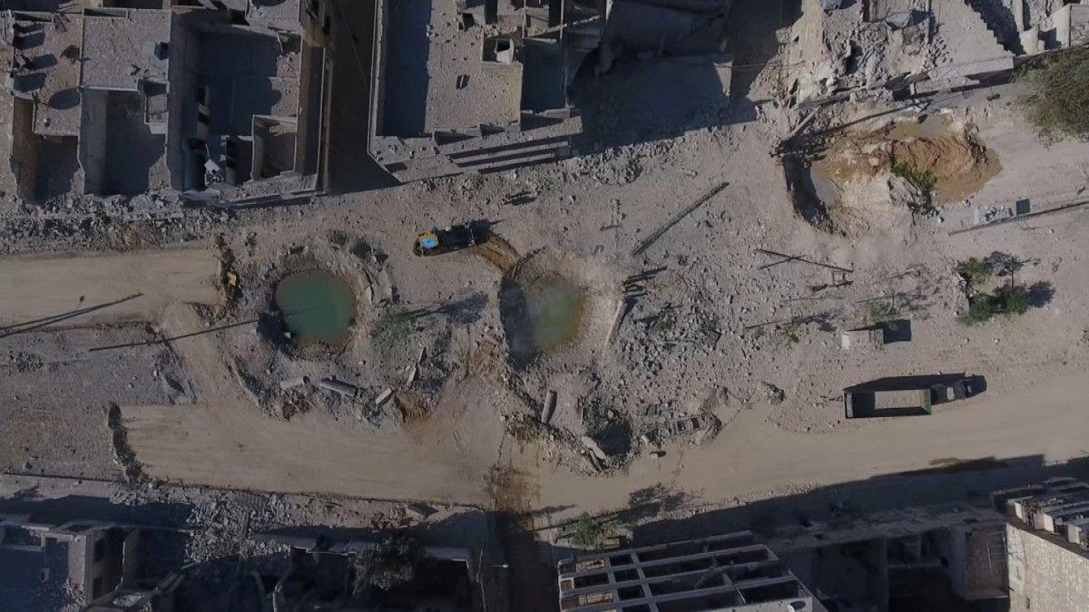 Бомбардировки Алеппо / REUTERS