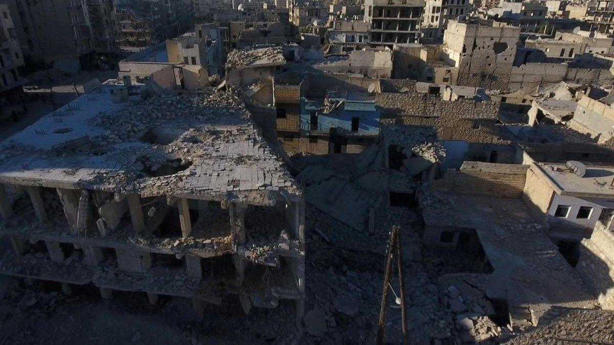 Руины в Алеппо, иллюстрация / REUTERS
