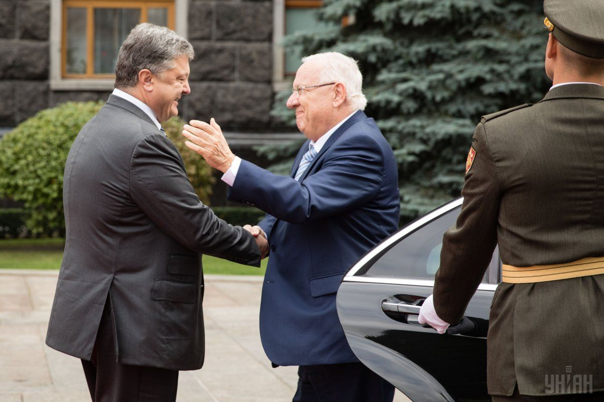 Israel's president has arrived in Kyiv / Photo from UNIAN
