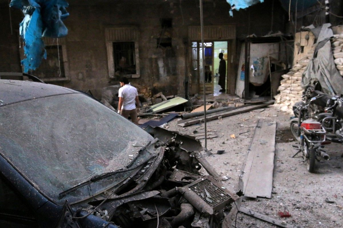 Руїни після вибуху / REUTERS