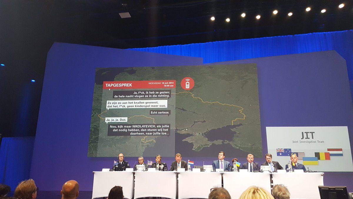 В Нидерландах 28 сентября представили отчет по катастрофе MH-17 на Донбассе, согласно которому сбивший лайнер
