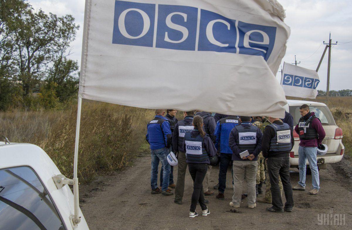 Місія ОБСЄ прибула в зону АТО для моніторингу ситуації із розведенням військ /УНІАН