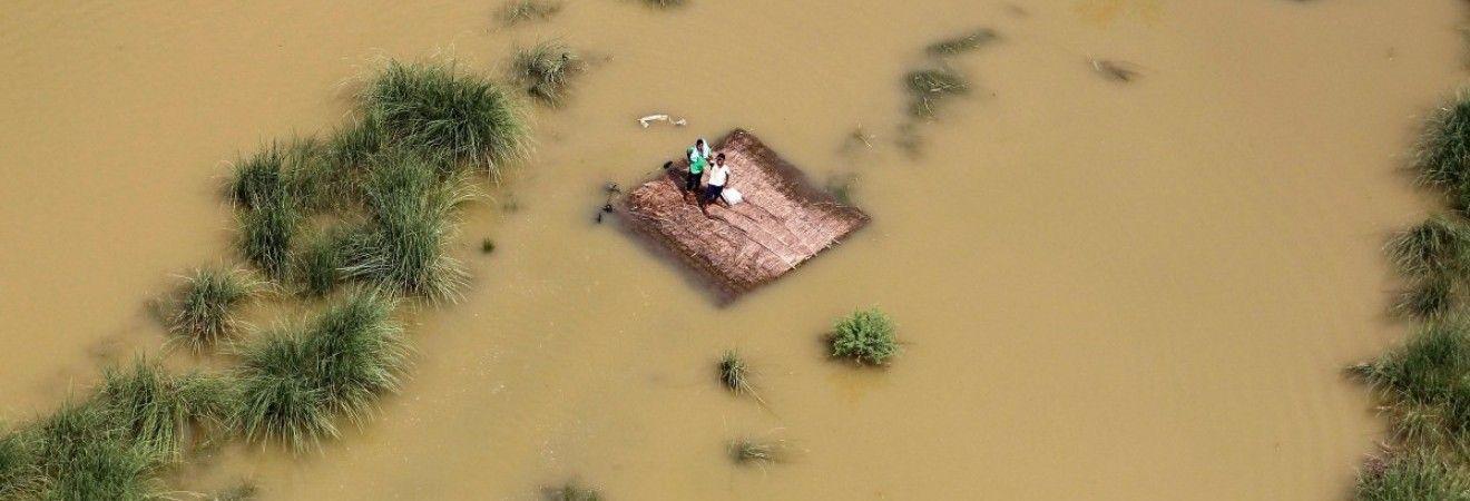 В індійському місті Дахану за добу випала рекордна кількість опадів