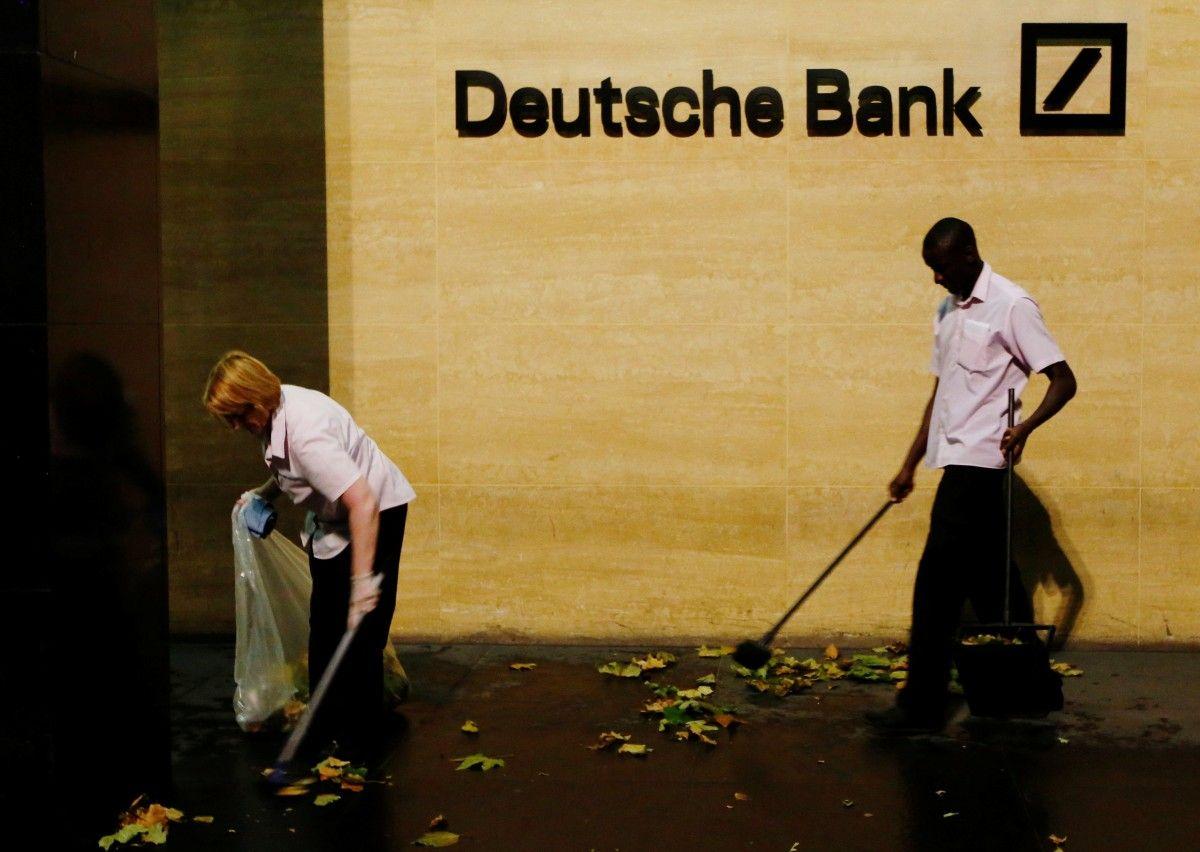 «Вобвале курса акций виноваты спекулянты»— руководитель Deutsche Bank