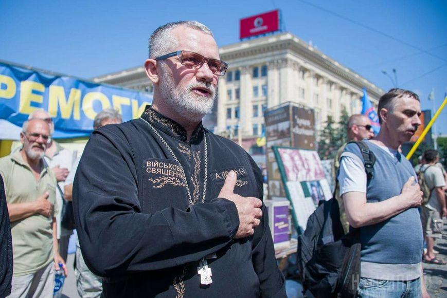 НаКиївщині загинув капелан, який побував уполоні «ЛНР»