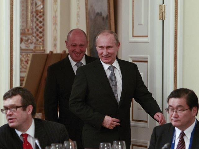 Евгений Пригожин и Владимир Путин / tjournal.ru