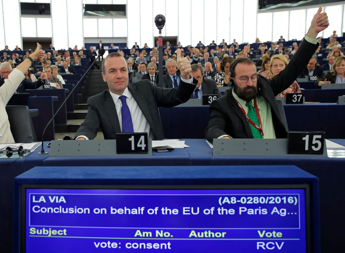 СтраныЕС готовы ратифицировать парижское соглашение поклимату