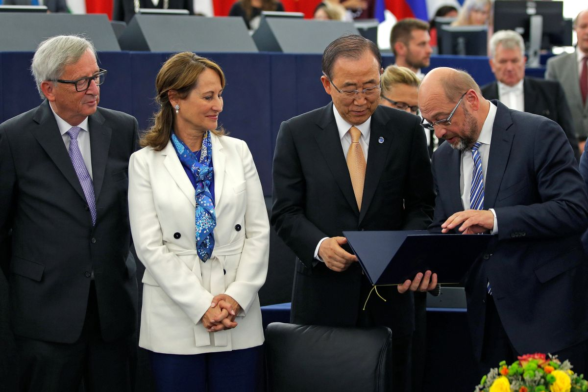 ООН: EC подпишет Парижское соглашение поклимату «вближайшие дни»