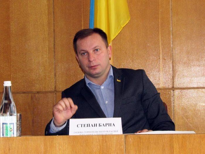 Голова Тернопільскої ОДА Степан Барна / oda.te.gov.ua