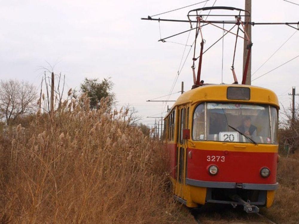 В Одессе из-за сильного дождя остановлено движение трамвая / Думская