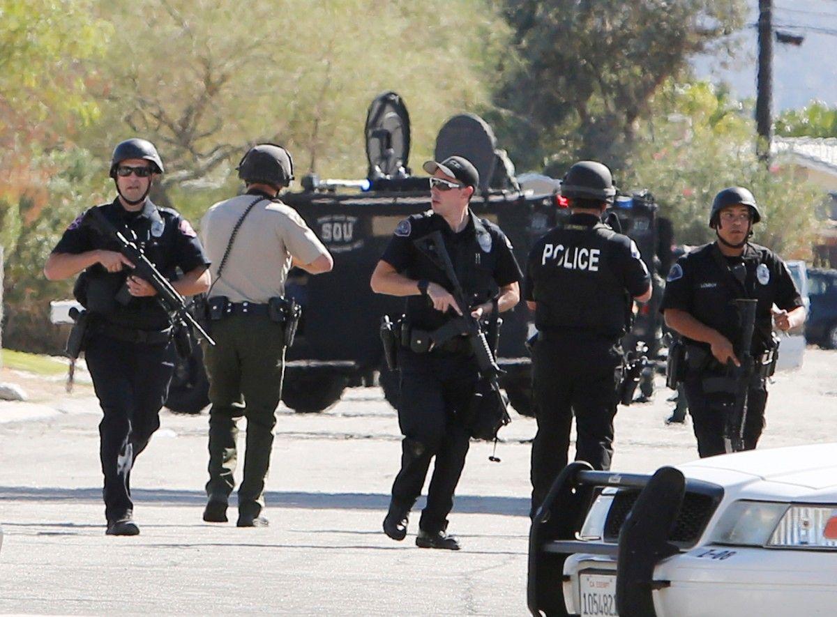 Преступникам не удалось скрыться от полиции / REUTERS