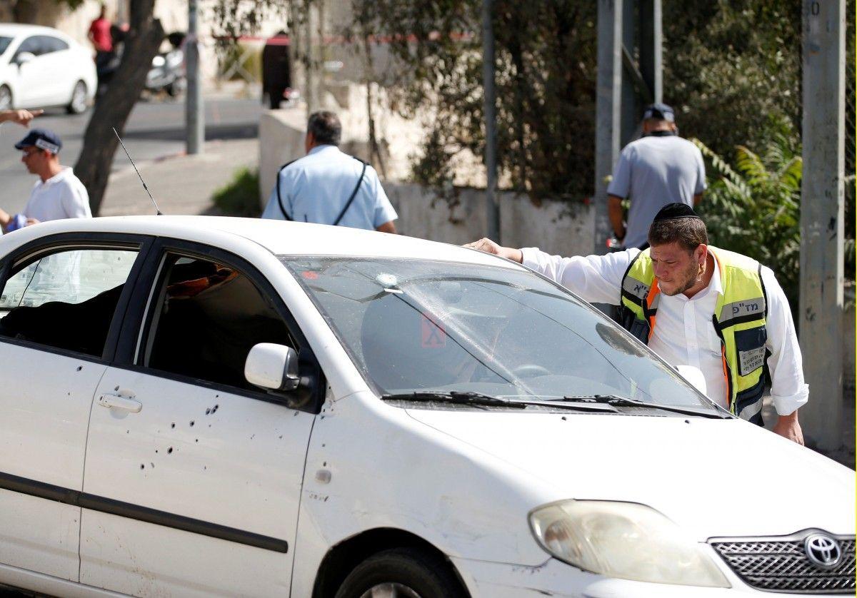 Стрельба в Иерусалиме / REUTERS