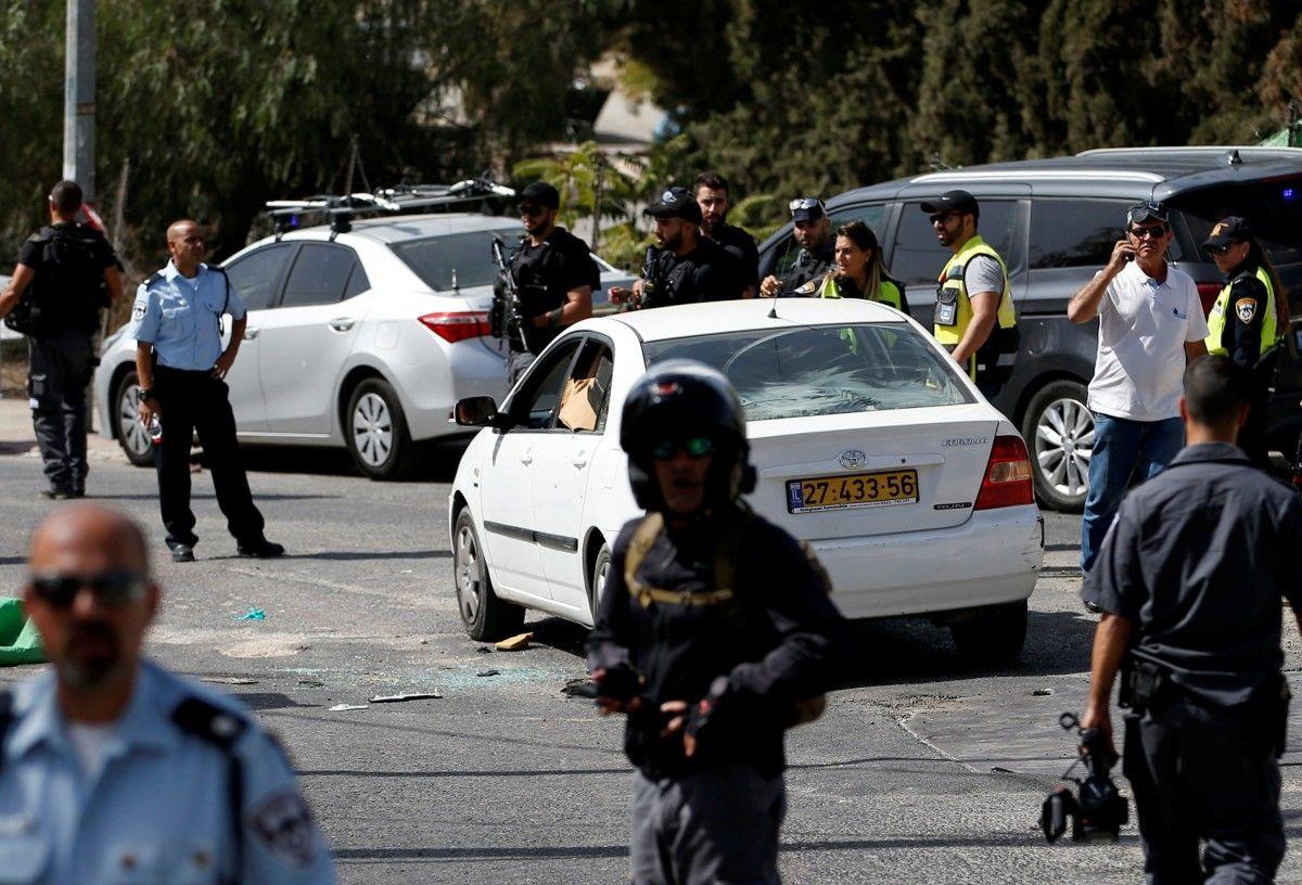 Теракт в Иерусалиме / REUTERS