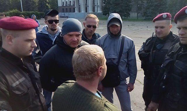 ВОдесі побилися проросійські активісти і Правий сектор