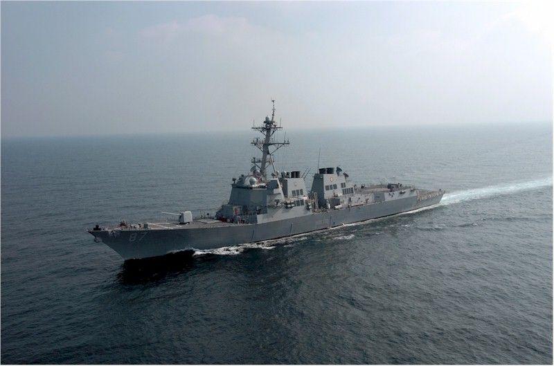 Хуситы пытались обстрелять американский эсминец / wikipedia.org