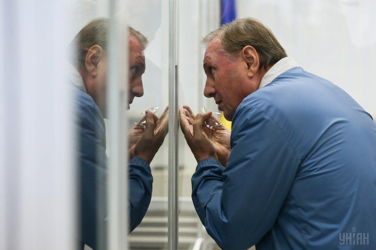 Єфремов відмовився відповідати на питання щодо терористичної організації