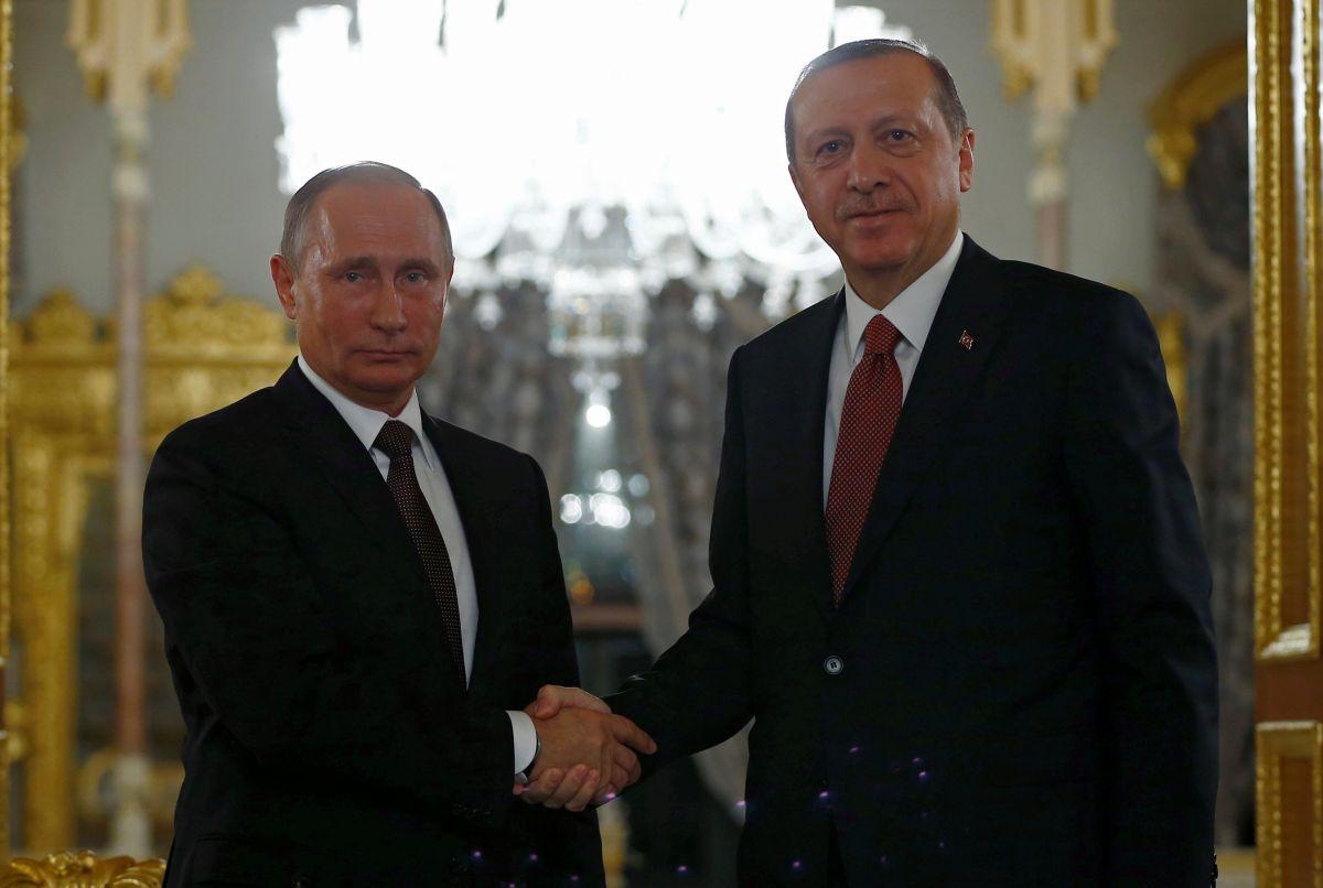 Владимир Путин и Реджеп Тайип Эрдоган / REUTERS