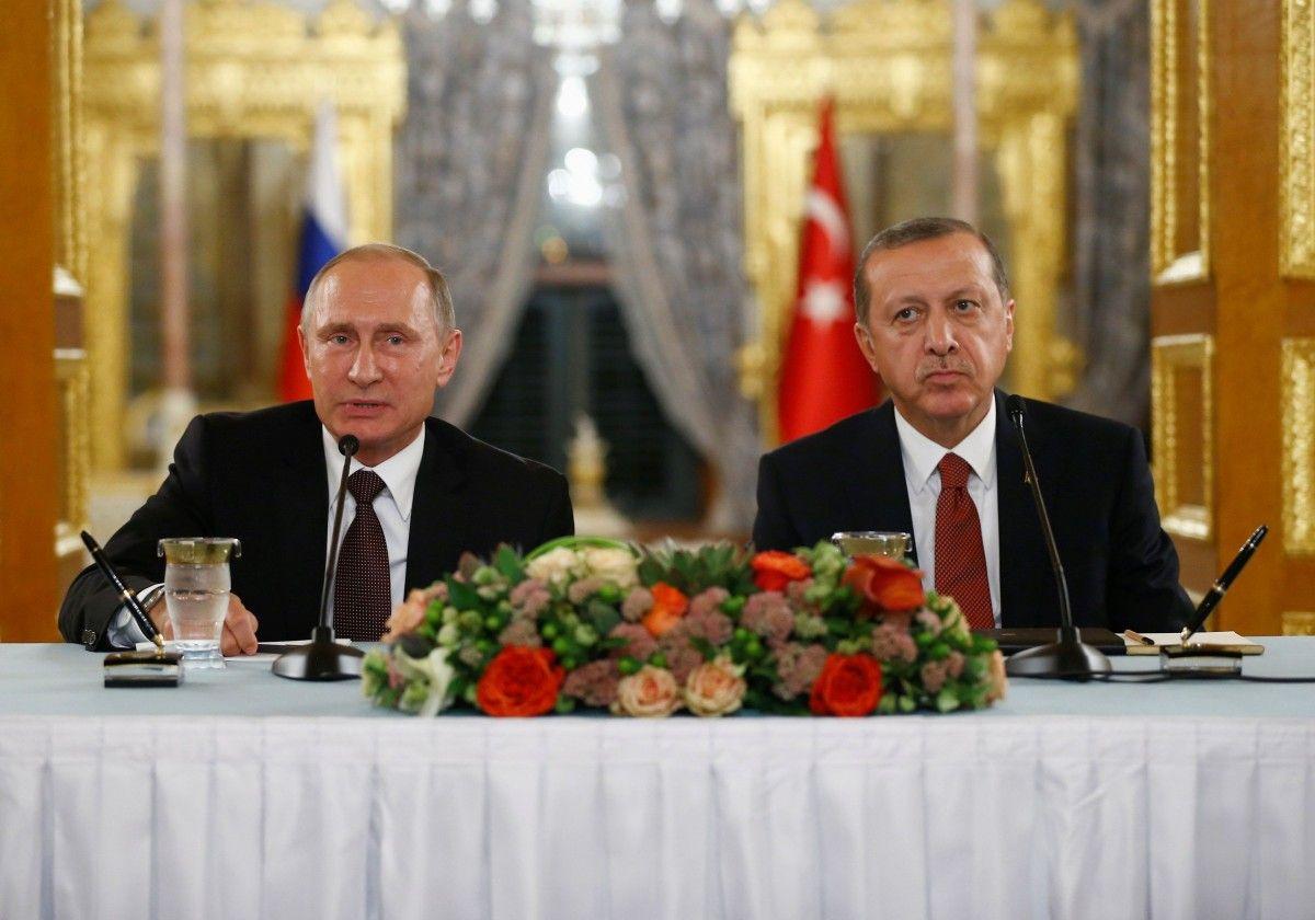 Путин прибыл вСтамбул для встречи сЭрдоганом ивыступления наэнергоконгрессе