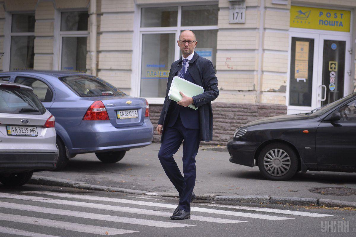 Яценюк прибыл надопрос поделам Майдана