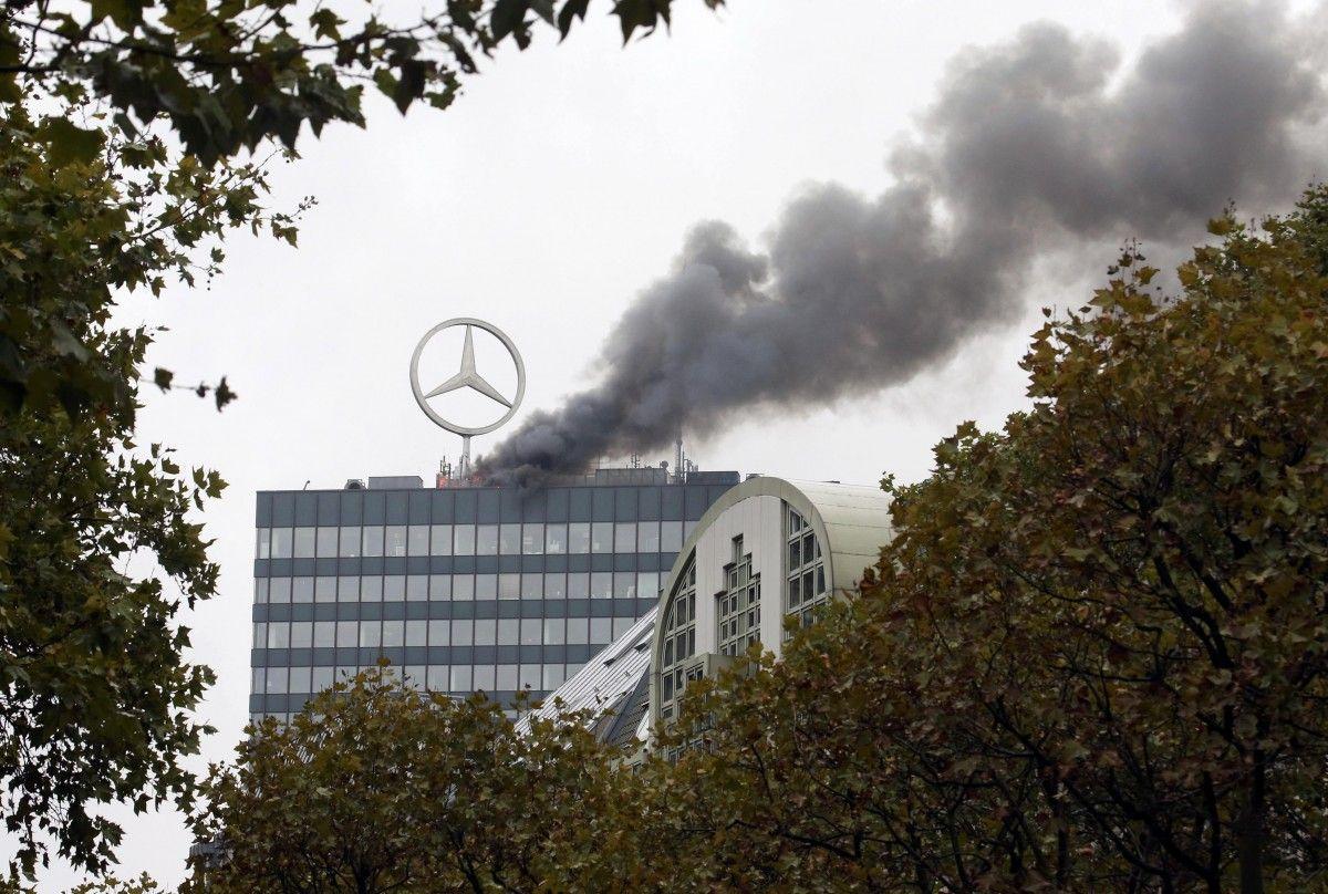 Пожежа в берлінському