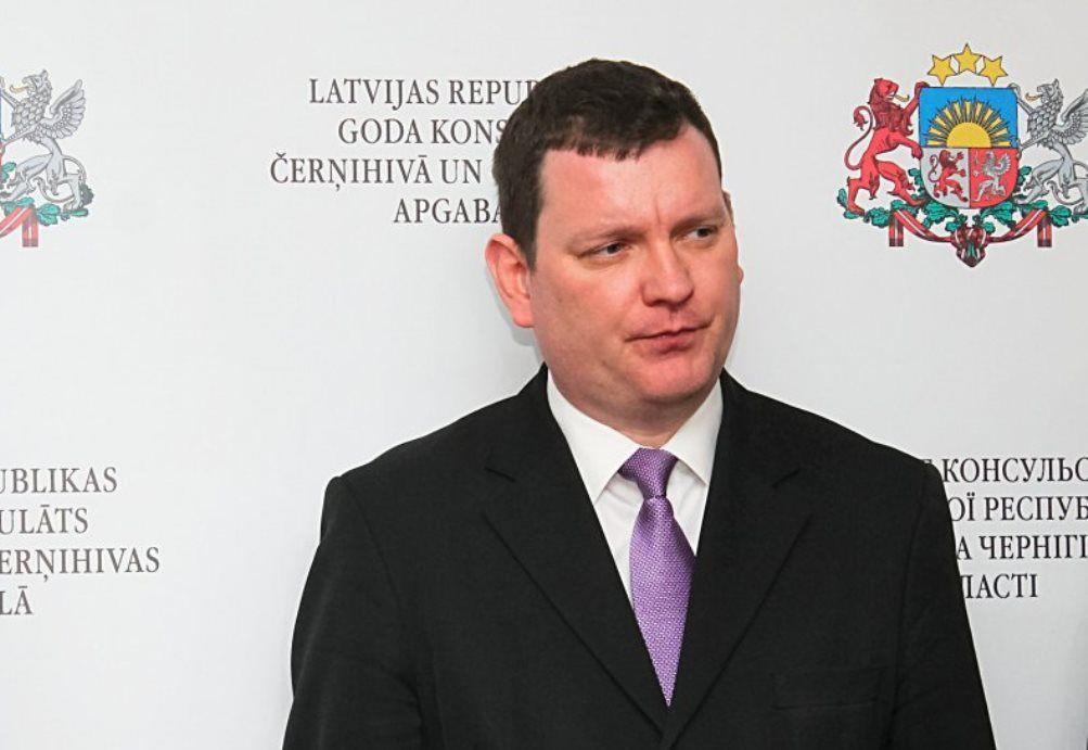 Посол Латвії Юріс Пойканс: Україна має набагато складнішу історичну спадщину, ніж ми мали / Фото УНІАН