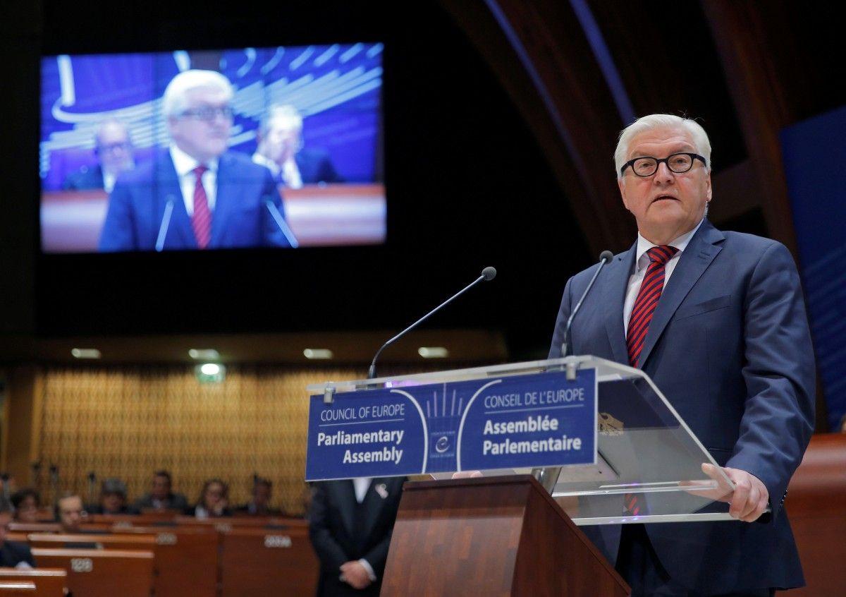 Франк-Вальтер Штайнмайер / REUTERS