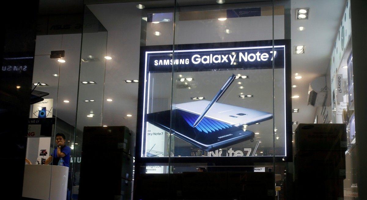 Samsung втратить щеблизько $ 3 млрд через відкликання Galaxy Note 7
