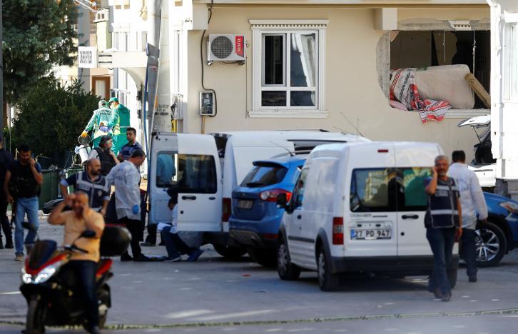 Взрыв в Турции / REUTERS