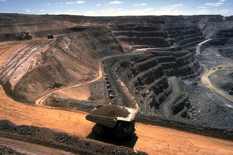 Вугільний кар'єр / Фото uk.wikipedia.org