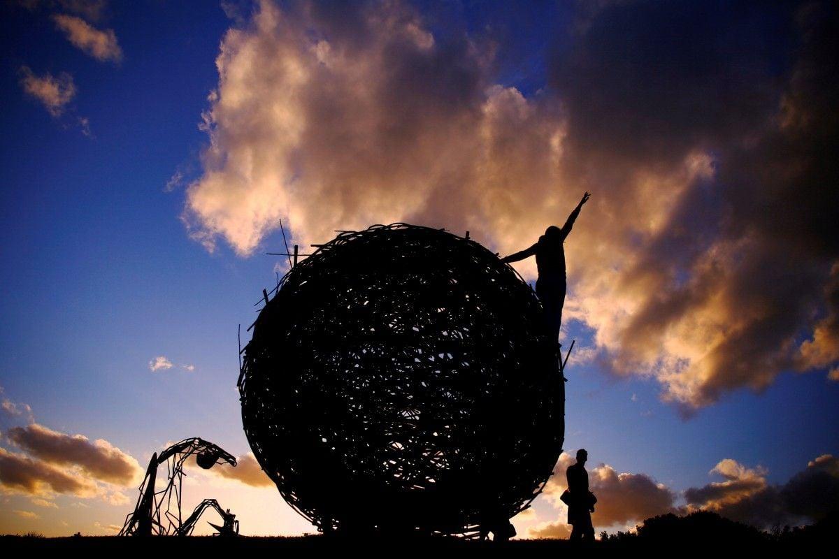 Виставка скульптур на пляжі в Сіднеї / Фото REUTERS